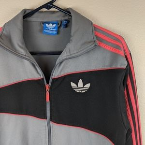 Adidas zip-up lightweight jacket size small